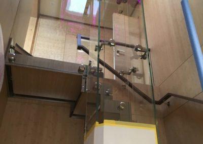 glass elevator - wayne took